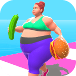 Fat 2 Fit-Body Race 1.4 APK MODs Unlimited money Download on Android