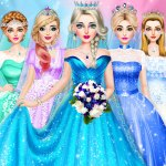 Ice Princess Wedding Dress up 0.25 APK MODs Unlimited money Download on Android