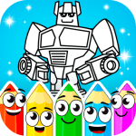 Painting Robots 1.1.3 APK MODs Unlimited money Download on Android