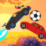Pixel Boost League – 2D Rocket Powered Car Soccer 1.8.0 APK MODs Unlimited money Download on Android