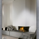 572 Granite Contemporary Fireplace I Modern Fireplaces