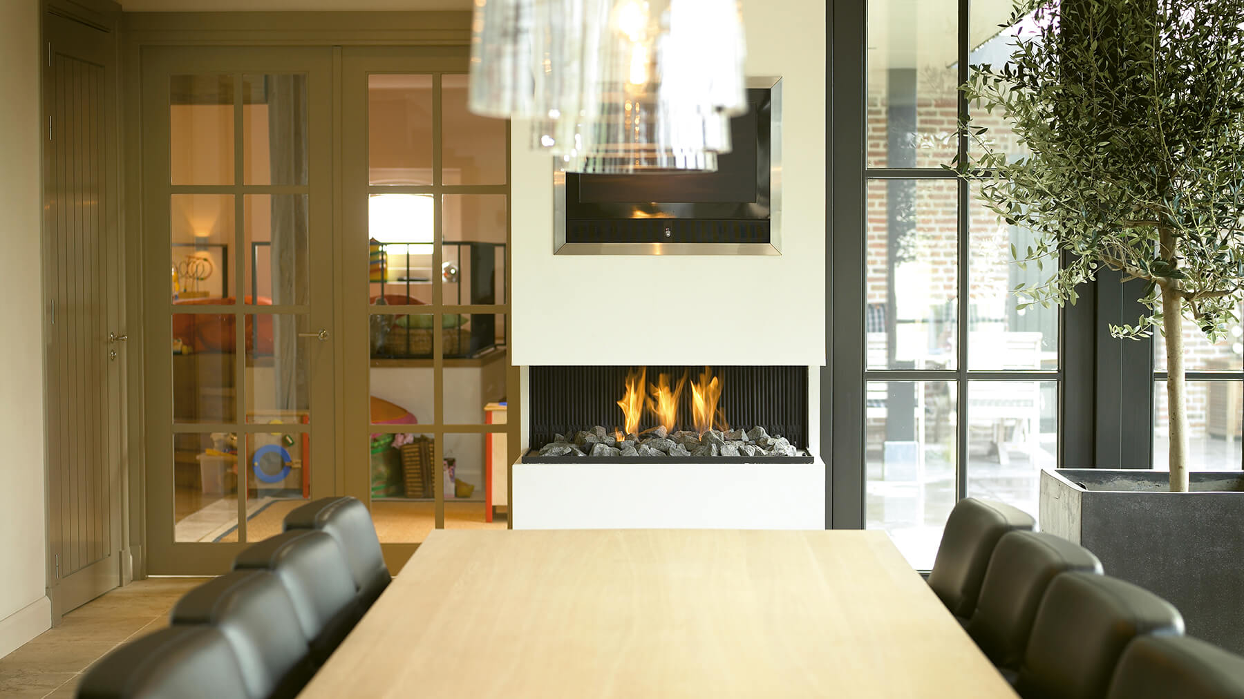 Modern Fireplace I Contemporary Fireplace
