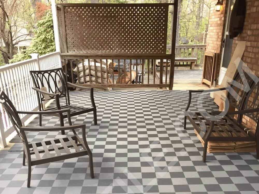 deck and patio floor tiles whitemade in