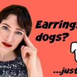 earrings for dogs modvegan