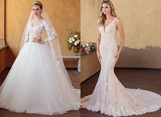 Casablanca Bridal Wedding Dresses With Sophisticated