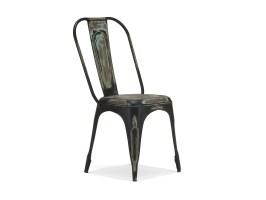 Industrial Möbel Stuhl Bistrostuhl im Industrielook aus Metall