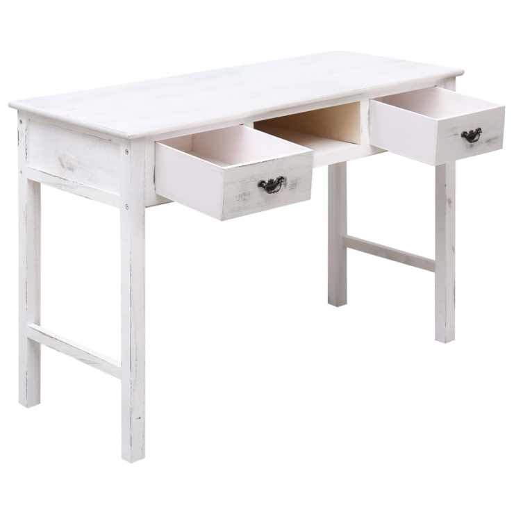 Schreibtisch Retro Weiß 2021