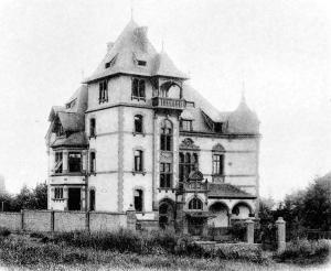 Wilhelm Dreyer, Judenhaus Wiesbaden, Dreyfus, Gräfin Frieda von Godin