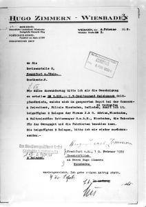 Hugo Zimmern, Ida Zimmern Feibel