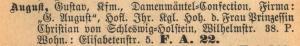 Philipp Bernhard Weil, Sara Solinger, Gustav August, Emma Weil, Milli Nussbaum Weil, Max Maximilian Nussbaum, Judenhaus, Adelheidstr. 94, Wiesbaden
