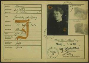 Alice Hamburg Schwarz, Juden Ottweiler, Aaron Albert, Emma Albert Cerf, Helene Albert Bensheim, Ida Albert, Judenhaus Wiesbaden, Herrngartenstr. 11