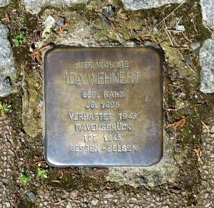 Ida Wehnert, Querstr. Schierstein Judenhaus Wiesbaden
