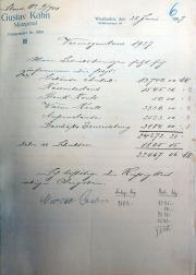Gustav Kahn, Lina Kahn, Adolf Kahn, Marianne KahnFrieda Kahn, Judenhaus Bahnhofstr. 46, Wiesbaden