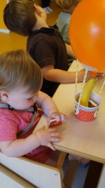 4femke verjaardag creche