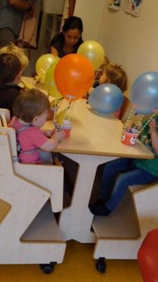 5femke verjaardag creche