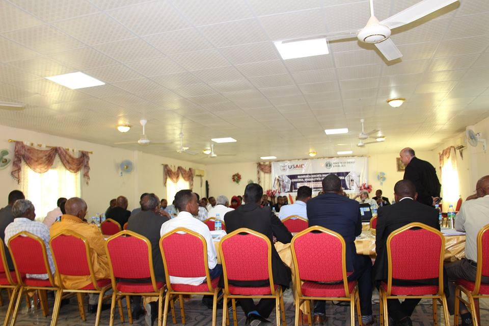 Two Days Somaliland Energy Sector Workshop opens in Berbera