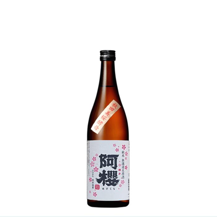 阿櫻限定酒 純米無濾過生原酒 秋田美桜酵母 720ml