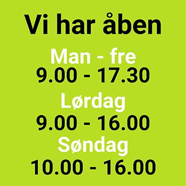 Åbningstider hos Moesgård Havecenter