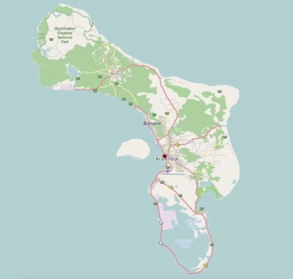 Geocaches Bonaire