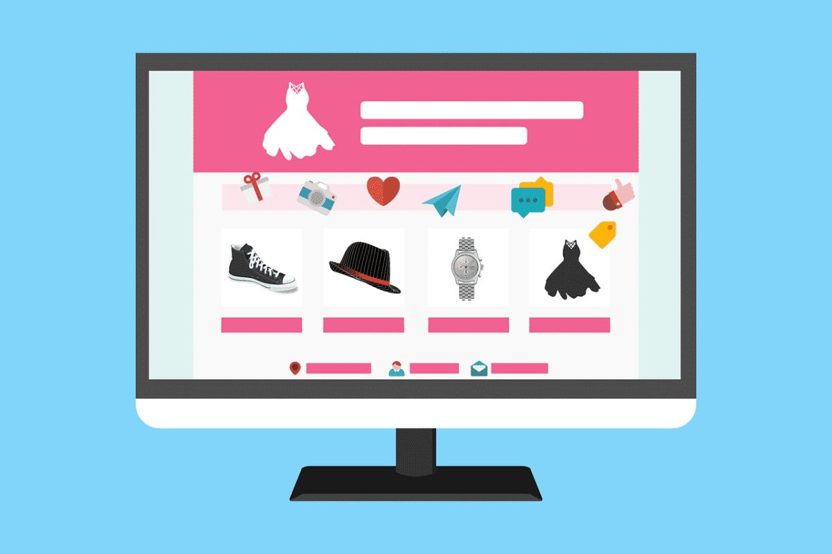 lav en webshop design