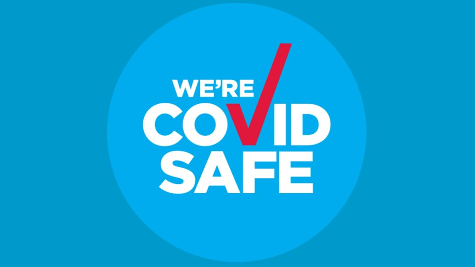 We're COVID-Safe