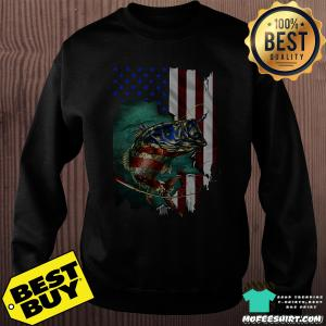 4th July Independence Day fishing shirt