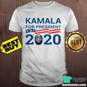 Kamala for president 2020 American flag shirt