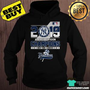 2019 Al East Division Champions New York Yankees hoodie