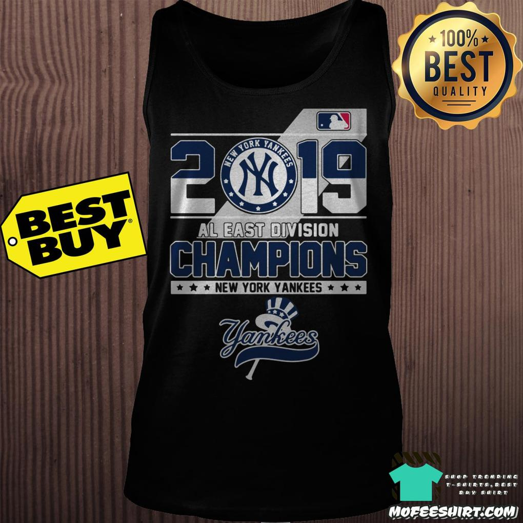 2019 al east division champions new york yankees tank top -  2019 Al East Division Champions New York Yankees shirt