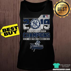 2019 Al East Division Champions New York Yankees tank top