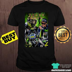 46 Valentino Rossi 2019 AVG Pista Winter Signature shirt