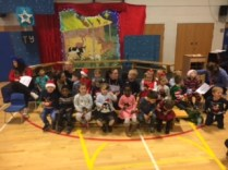 Our Christmas Performance for our parents and carers.