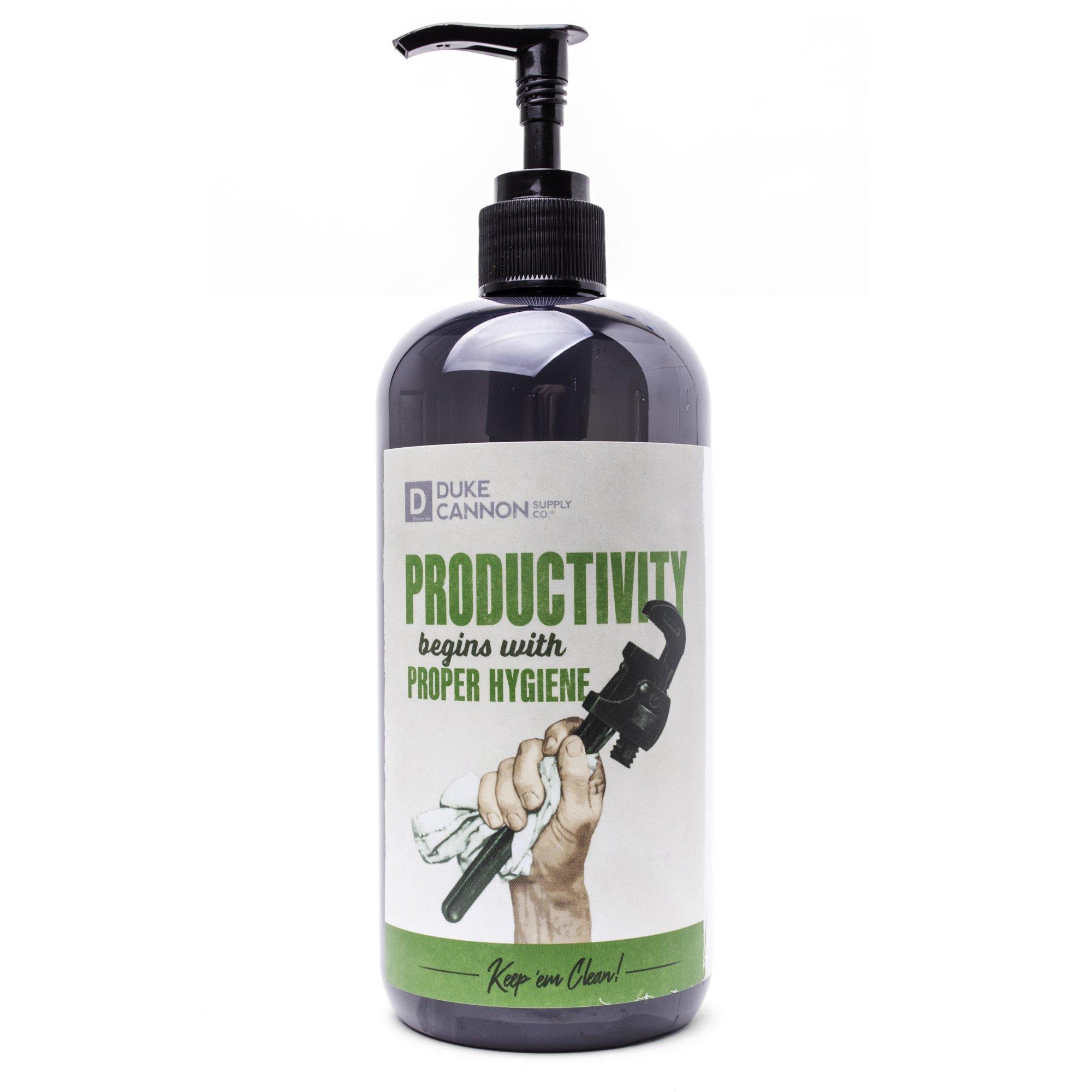 Liquid Hand Soap-Productivity
