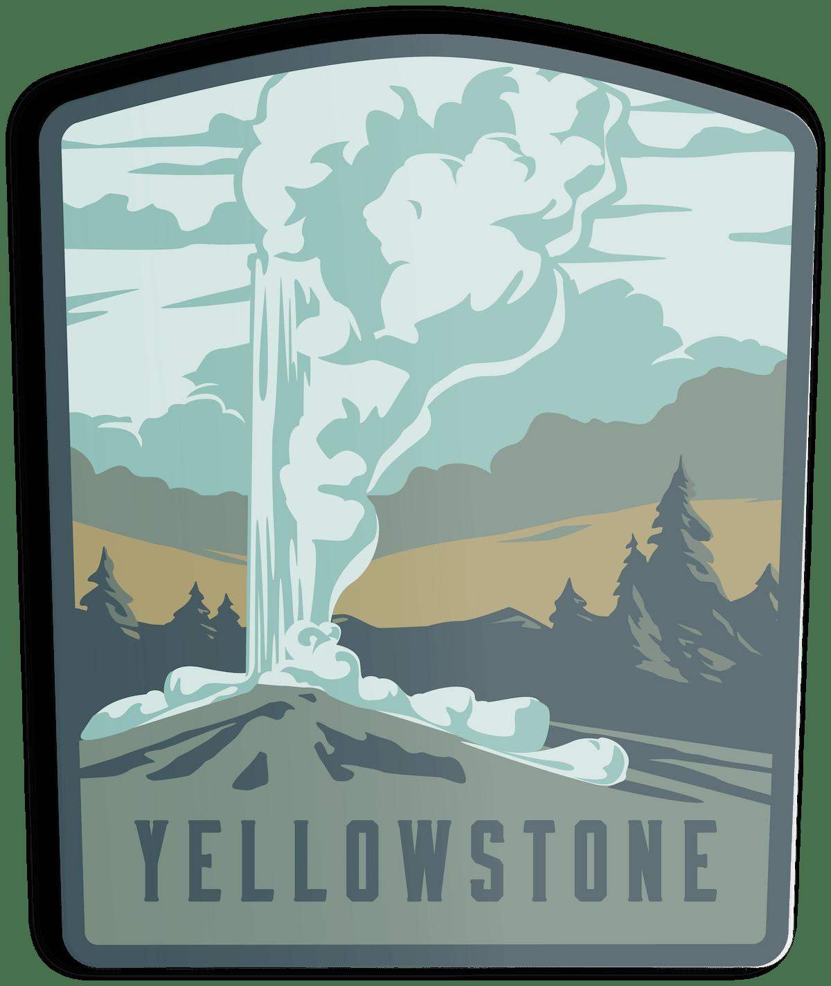 Sticker-Yellowstone
