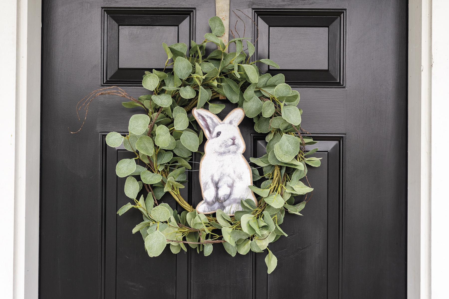 Wreath Insert-Rabbit