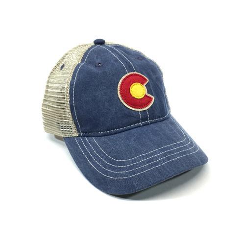 Vintage Denim C-Trucker Hat Regular