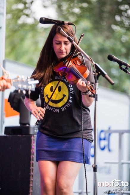 The Strumbellas at Wapiti Festival 2014- 9th August 2014
