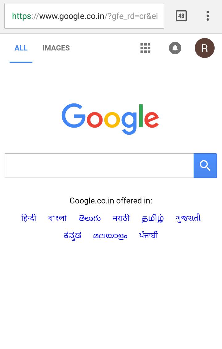 Google Chrome App