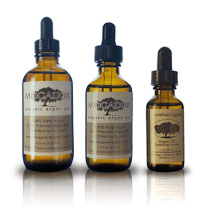 Mogador Argan Oil, 3 bottle set