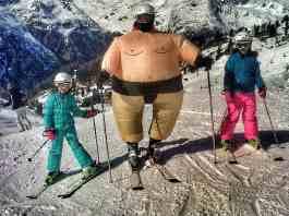 Fasching auf Ski