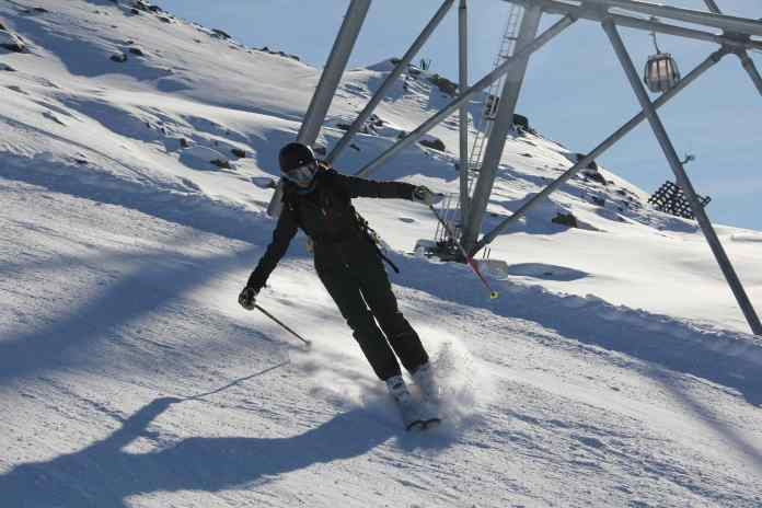 Technical Errors in Skiing