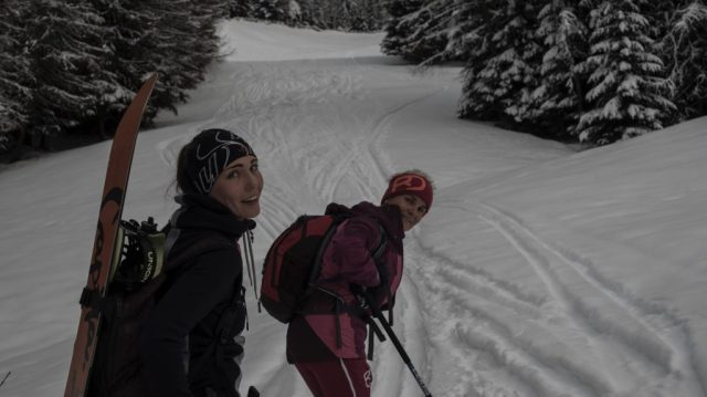 Skitour, Celine Blochberger, Mogasi