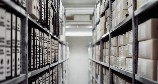 倉庫 書類 棚