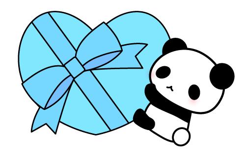 パンダ ホワイトデー