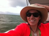 Out on my grandparent's boat in Fort Myers Beach, FL in January 2013.