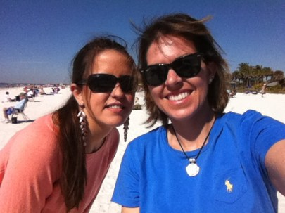 Danny came to visit me in Fort Myers Beach!