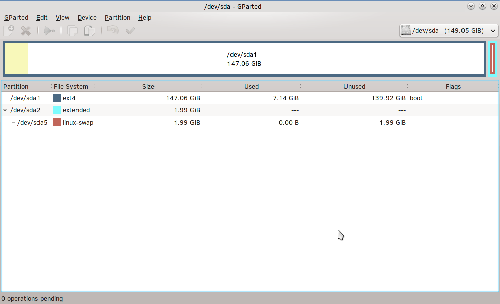 SolydX_Install07-Gparted01