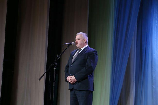 Выступает глава администрации Ленинского района г. Могилёва Виктор ЛАВРИНОВИЧ