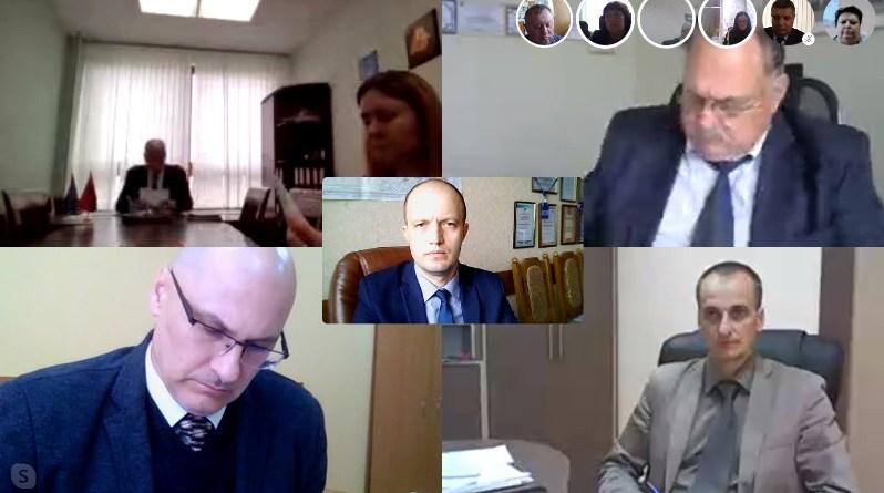 В формате видеоконференции прошло заседание Президиума Республиканского комитета профсоюза