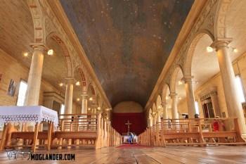 Inside of a Church.